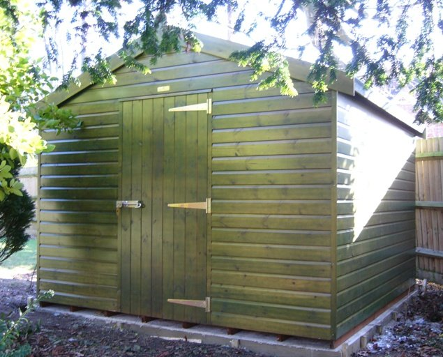 3.0 x 3.0m Superior Shed 1.85m eaves