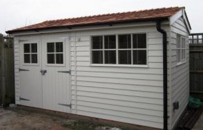 2.4 x 4.2m Superior Shed 2.0m eaves