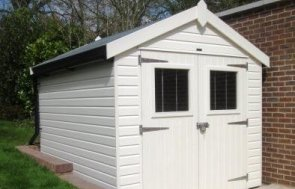 2.4 x 2.8m Superior Shed