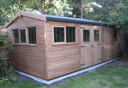 3.0 x 6.0m Superior Shed