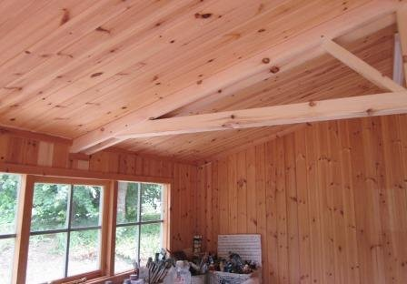 Matchboard Lined Superior Shed