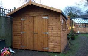 3.0 x 3.0m Superior Shed
