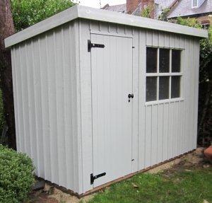 1.8 x 3.0m Oxburgh Garden Shed