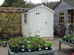 1.8 x 2.4m Peckover Shed