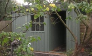 2.4 x 3.0m Blickling Shed