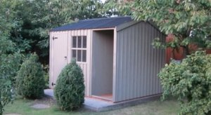 2.4 x 3.6m Blickling Garden Shed