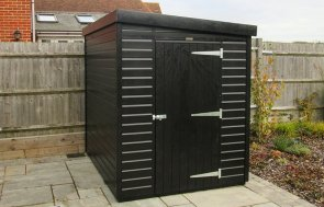 Superior Shed Pent Roof in Valtti Black