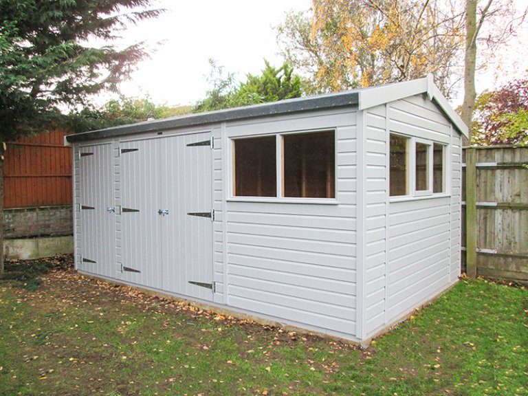 3.0 x 4.8m Superior Shed with Partition