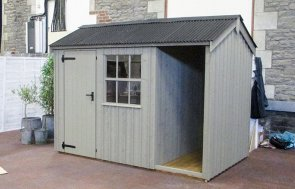 1.8 x 3.0m Blickling Shed