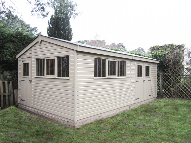 3.6 x 6.0m Superior Shed