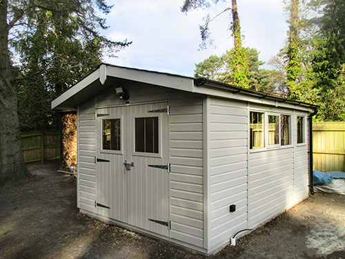 Superior Shed in Pebble