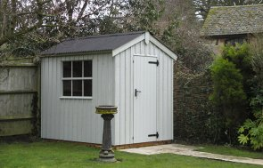 National Trust Peckover Shed in Disraeli Green