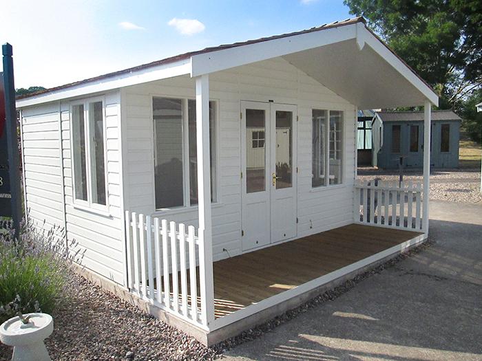 4.2 x 4.2m Morston Summerhouse Notts