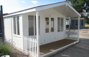 4.2 x 4.2m Morston Summerhouse Cream