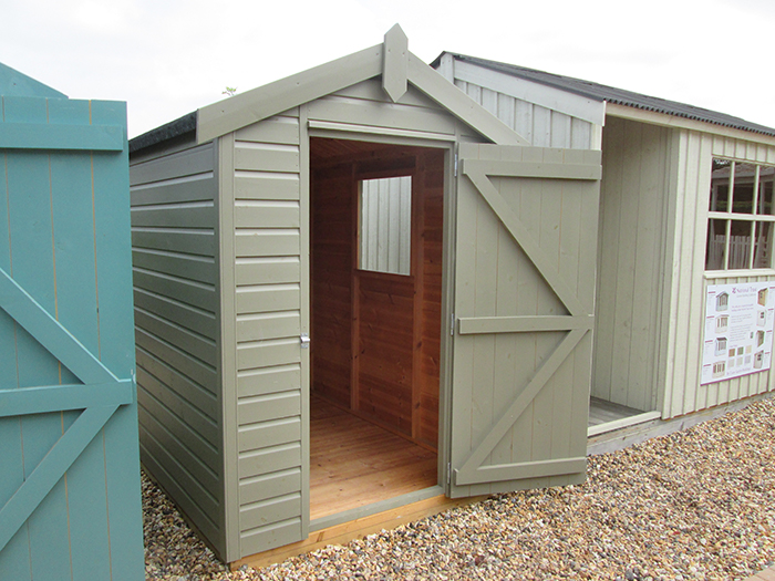 Classic Shed in Stone