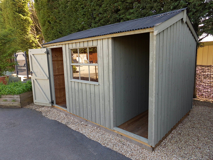 National Trust Blickling Shed - 2.4m x 3.6m (8ft x 12ft)