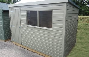 Classic Shed in Stone 1.8 x 3.0