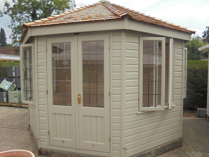 Wiveton Summerhouse French Gray