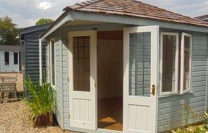 Weybourne Summerhouse Verdigris