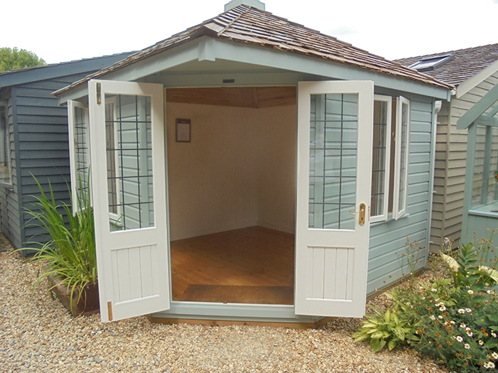 Weybourne Summerhouse Verdigris