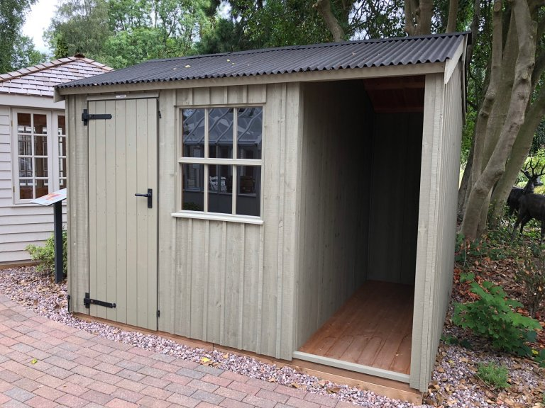 National Trust Blickling Garden Shed - 2.4m x 3.0m (8ft x 10ft)