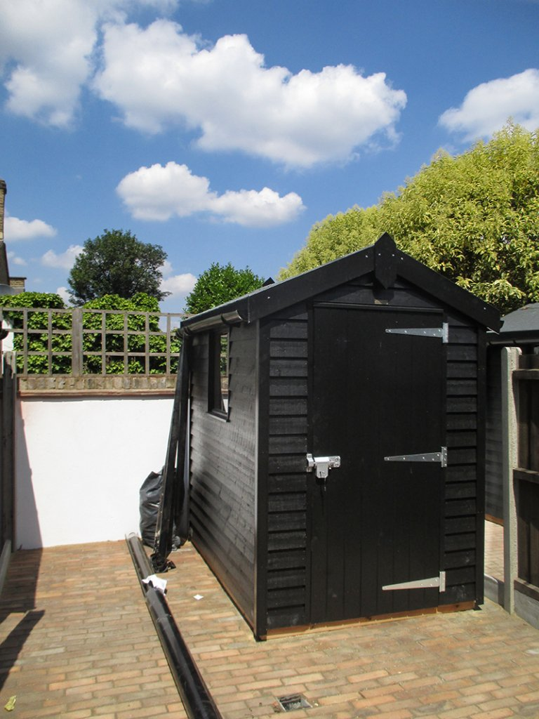 1.5 x 2.1m Superior Shed with Apex Roof