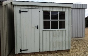 1.8 x 2.4m Oxburgh National Trust Shed