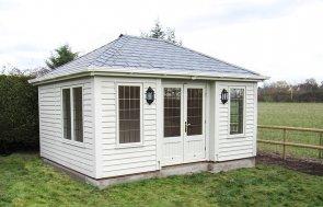 Hipped Roof Garden Room