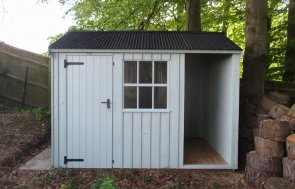 2.4m x 3.0m National Trust Blickling Shed in Disraeli Green