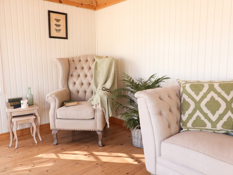 Cley Summerhouse Internal