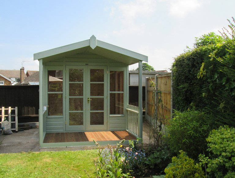 Morston Summerhouse in Lizard Paint