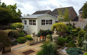 3.0 x 3.0m Superior Shed in Sandstone Paint