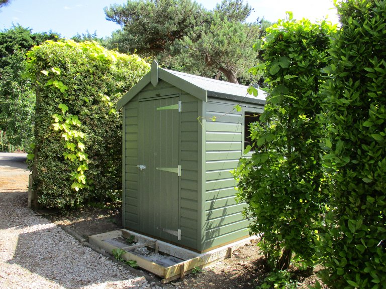 Classic Shed in Moss Exterior Paint