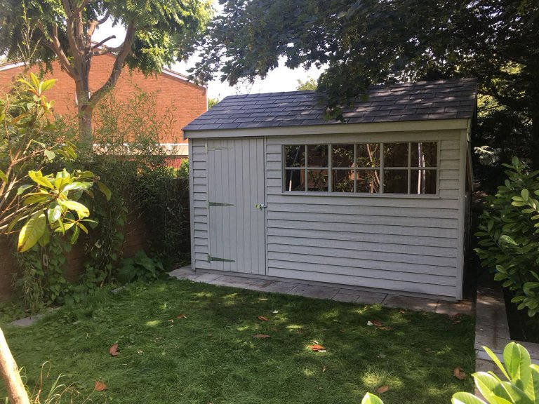 Superior Shed with Velux Window