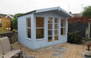 Blakeney Summerhouse in Sundrenched Blue