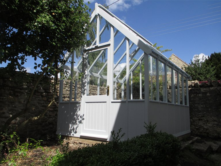 Greenhouse in Saltwater Exterior Paint