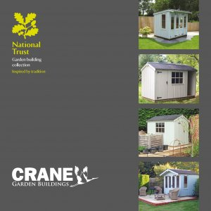Crane Garden Buildings National Trust Brochure