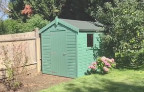 Classic Shed Installation Montage