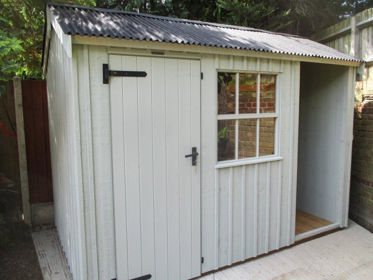 1.8 x 3.0m National Trust Blickling Shed in Disraeli Green