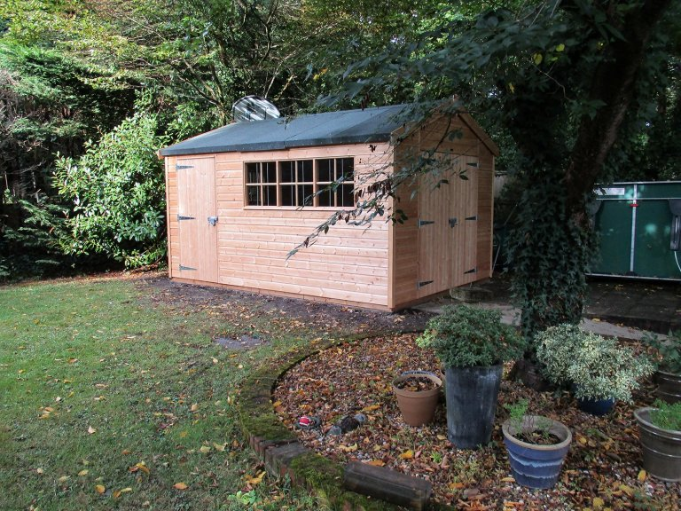 Superior Shed with Insulation and Heavy-Duty Flooring