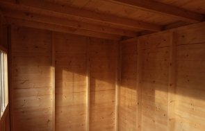 Superior Shed in Grey Sikkens Stain