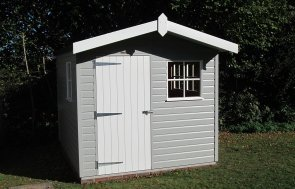 Superior Shed with Overhang