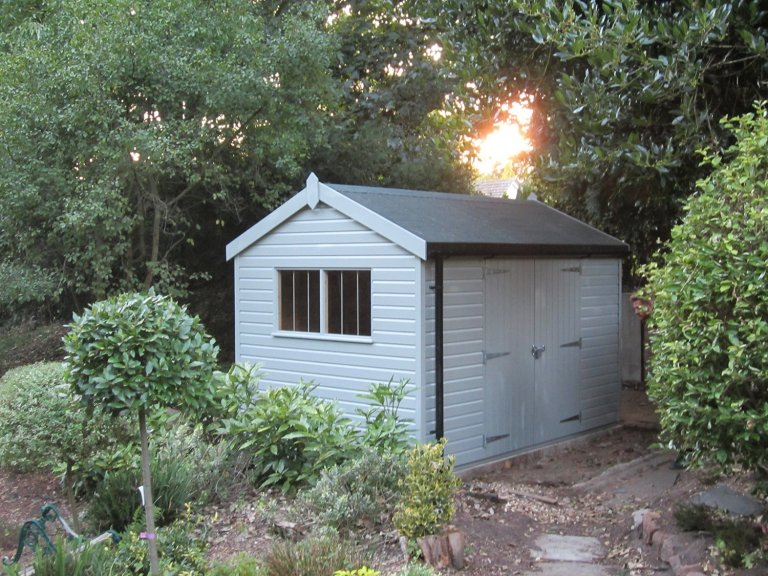 Superior Shed with Double Doors