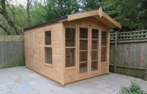 Blakeney Summerhouse with Storage Partition