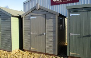Apex Classic Shed in Stone