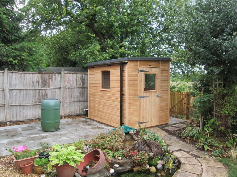 Superior Shed with Pent Roof
