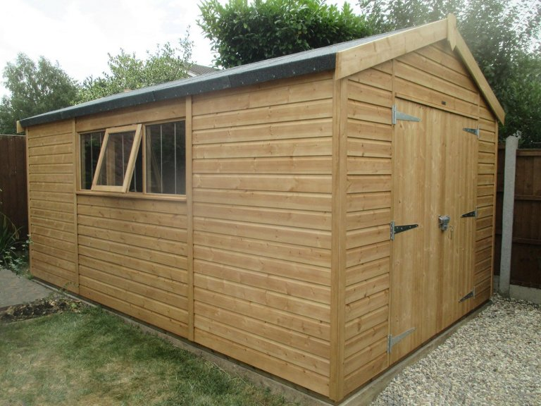 Light Oak Superior Shed