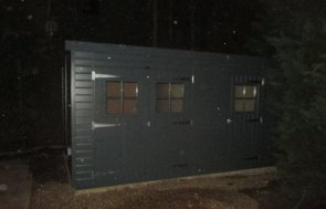 Superior Shed in Slate