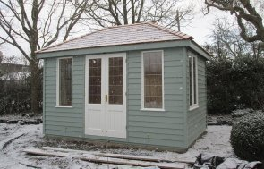 Snowy Cley Summerhouse