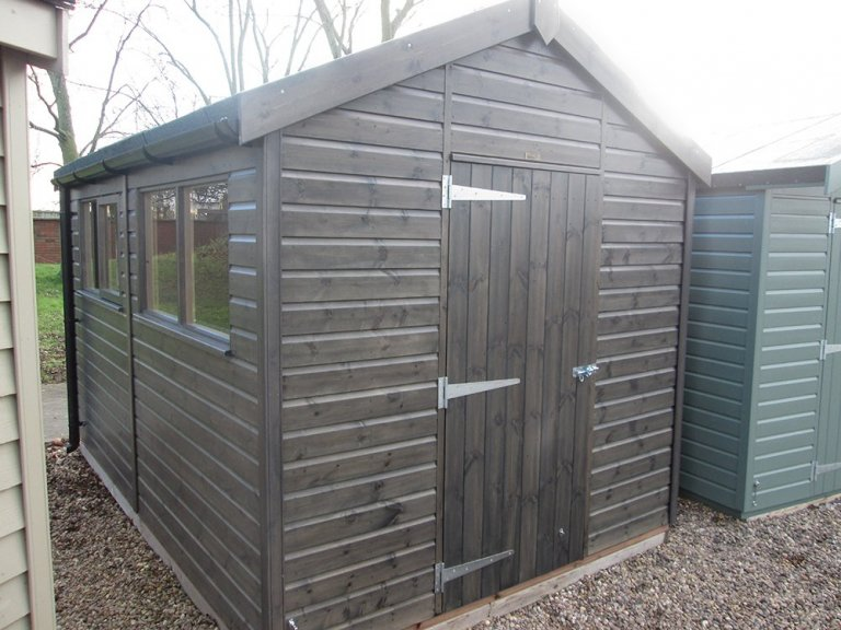 Superior Shed - 2.4m x 3.6m (8ft x 12ft)
